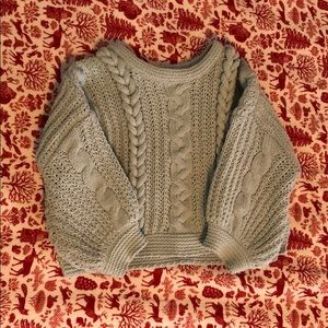 Toddler Chunky knit sweater